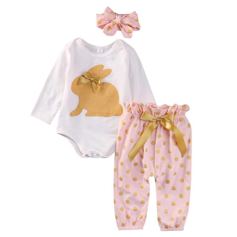0 18M NEWBORN Baby Kids Girls Clothes Floral Romper Tops