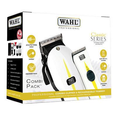 Wahl Professional Super taper and Super Trimmer Combi Pack