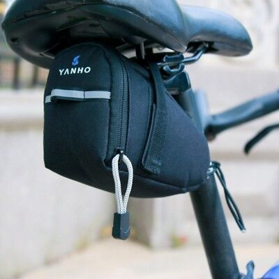 Waterproof Mountain MTB Bike Cycling Saddle Bag Under Seat Pouch Tail Rear
