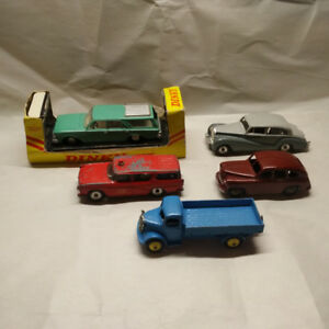 5 Vintage Dinky Toys/ Meccano Diecast Cars