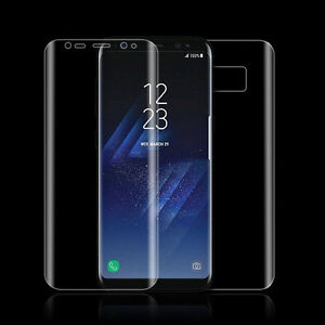 Galaxy S8 Front and Back TPU Screen Protector Film 2 sets.