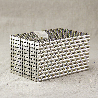 50Pcs Super Strong Round N35 Neodymium Magnets Rare Earth Disc Fridge Craft BY62
