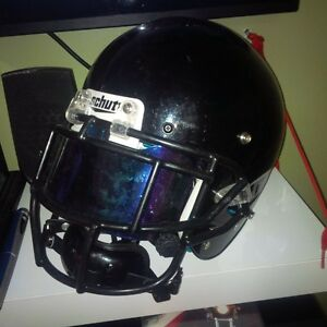 one indoor  season old football equipment ngn will trade for TV