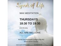 Max Meditation™ with Spark of Life - A guided meditation system for a mindful experience