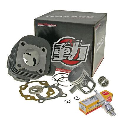 Gebraucht, 50ccm NARAKU Marken Zylinder Zylinderkit Kolben Lager Minarelli AC liegend 10mm gebraucht kaufen  Langweid