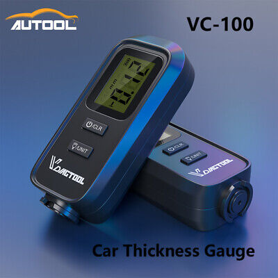 Vc-100 Lcd Digital Auto Car Paint Coating Thickness Tester Measuring Gauge Meter