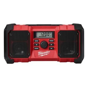 Milwaukee Radio de chantier à boîtier durable M18 sans fil