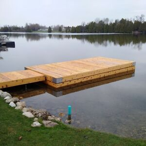 Western Red Cedar Docks Kitchener / Waterloo Kitchener Area image 1