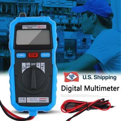 Bside Adm04 Handheld Mini Lcd Backlight Digital Multimeter W Test Lead Ammeter