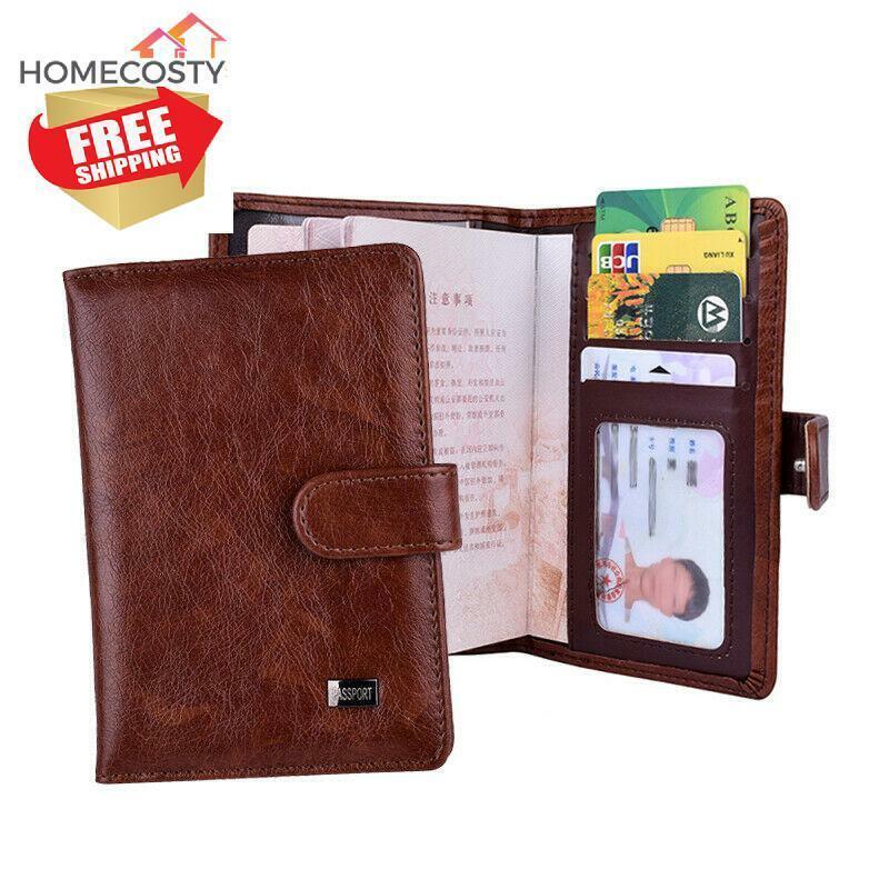 cartera tarjetero de cuero  Genuine Leather ID//Credit Card Holder wallet