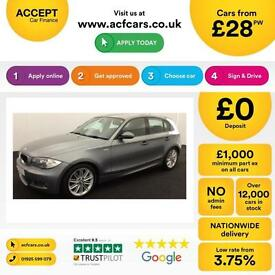 BMW 120 2.0TD 2009MY d M Sport FROM £28 PER WEEK!