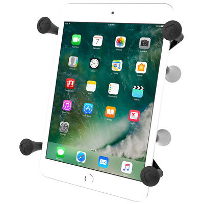 "RAM-HOL-UN8BU RAM Mounts Universal X-Grip II 7"" Tablet Holder Cradle w/ 1"" Ball for sale  Shipping to India"
