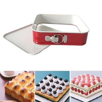 Non-stick Springform Pan Round Heart Square Cake Cheesecake Pan Baking Tool JAP - Heart Springform Pan
