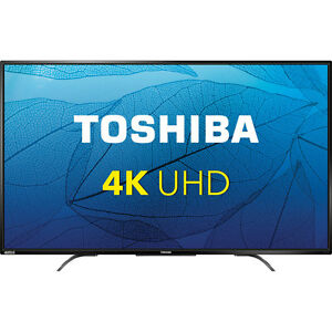 "NEW IN BOX Toshiba 49"" 4K UHD LED TV CHROME CAST BUILT IN"