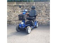 Moblity Scooter Pride Colt Blue Large scooter