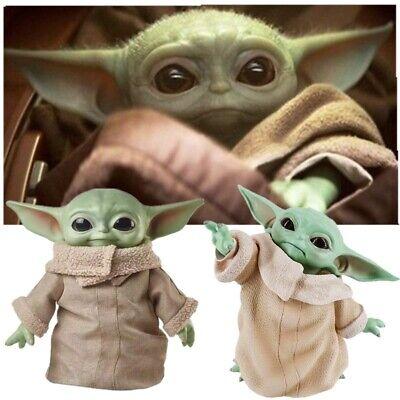Star Wars Baby Yoda Grogu Mandalorian The Child 8cm Figure Toy Collection Dolls