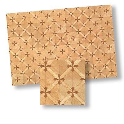1:24 Dollhouse Flooring Parquet Floor Sheet