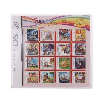 Nintendo DS 32GB 3DS Video Game Multi Cart Cartridge 1500+ games