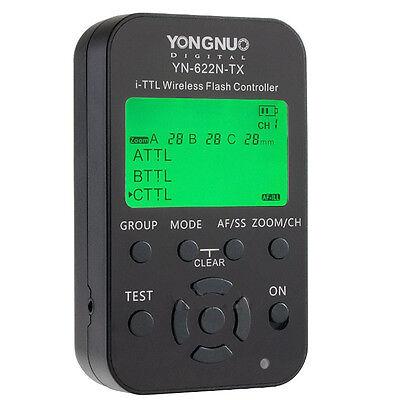 Yongnuo YN-622N-TX YN622N TX 1/8000 i-TTL Funkauslöser Blitzauslöser für Nikon