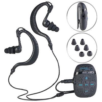 auvisio Wasserdichter Sport-MP3-Player DMP-450.x8 mit 8 GB Speicher, IPX8 (Mp3 Wasserdicht)