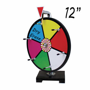 12 INCH MINI DRY ERASE COLOUR PRIZE WHEEL : ENTRY LEVEL London Ontario image 1
