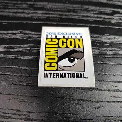 Funko Pop 2015 SAN DIEGO COMIC CON INTERNATIONAL Sticker 1x metallic Vegeta