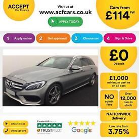 Mercedes-Benz C250 FROM £114 PER WEEK!