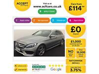 Mercedes-Benz C250 FROM £114 PER WEEK!