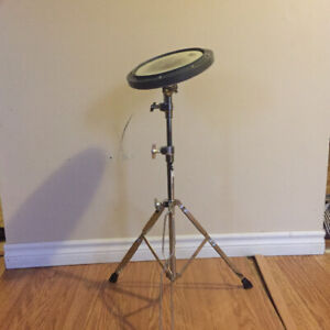 Drum Practice Pad and Stand