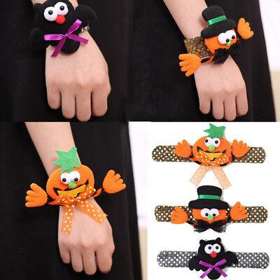 Halloween Pumpkin Cartoons For Children (Halloween Cartoon Funny Wristband Patted Circle Bracelet Decoration For)