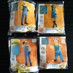Minion family costumes (4 people)