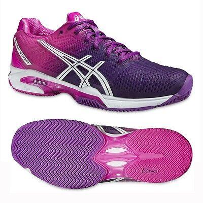 ASICS GEL-SOLUTION SPEED 2 CLAY Damen Tennis Schuhe Tennisschuhe (E451J Fb.3735) Asics Gel Solution Speed