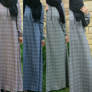 Robe Hijab Abaya Femme Musulmane Muslim Dress - Made in TURQUIE
