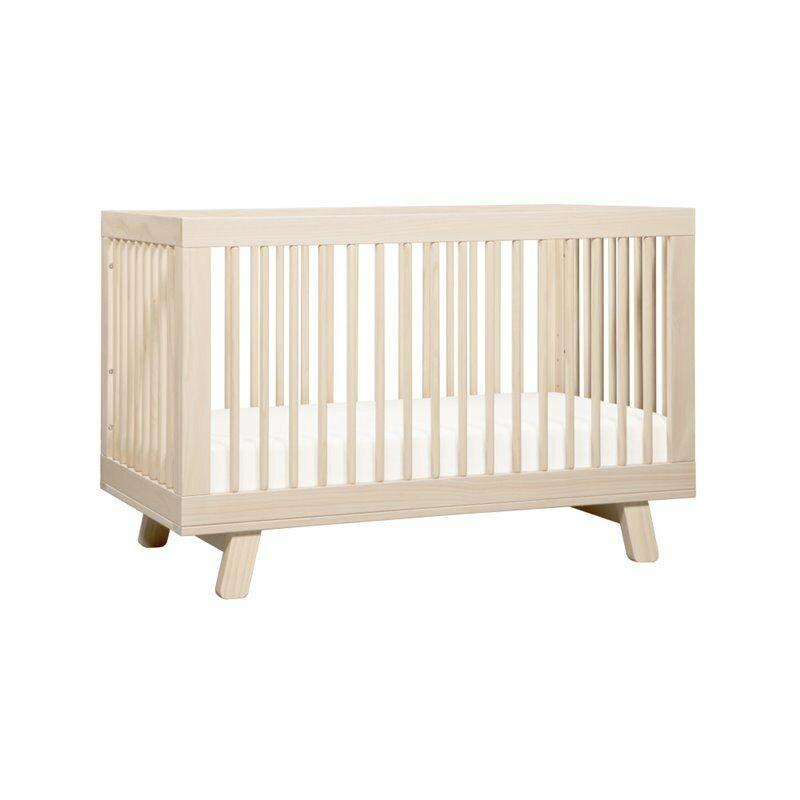 Hudson 3-in-1 Convertible Crib & Toddler Bed Conversion Kit Washed Natural
