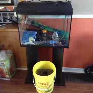 30 gal fish tank with everything inc