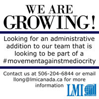 WANTED:  Administrative Professional