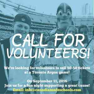 ARGOS game in support of The Canadian Safe School Network