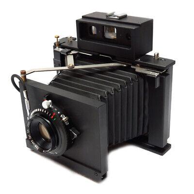 Polaroid Model 185 + TOMINON 114mm F4.5