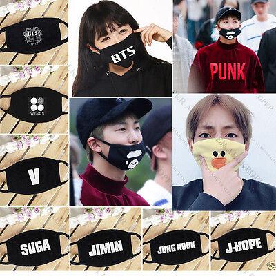 BTS Wings Mouth Mask Kpop Merchandise Face Muffle Jung Kook J-Hope Bangtan Boys