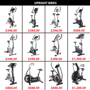 Magnetic Pedal Bicycle Bike Air Bikes Dual Pedals Upright Cardio