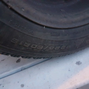 Set of 4 Goodyear Winter Tires