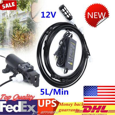 12v Sprayer Misting System Diaphragm Water Pump For Garden Sprinklers Shower Top