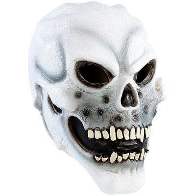 e aus Latex (Halloween-Masken Horror) (Totenkopf Maske Halloween Horror Masken)