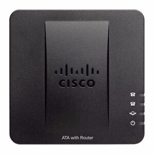 Cisco Linksys SPA122 VoIP SIP Phone Adapter Router ATA 2FXS