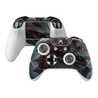 Xbox One Controller Skin Kit - Black Dragon by Kerem Beyit - DecalGirl Decal