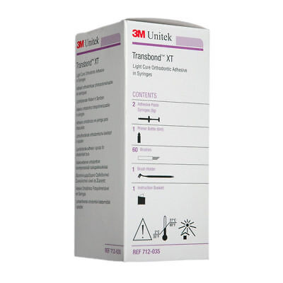 3m Unitek Transbond Xt Kit Orthodontic Adhisive 1 Syringe 4gm1 Primer 6ml