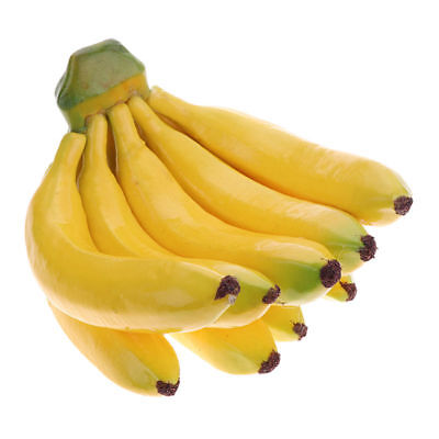 Home Decorative Artificial Fruit Prop Banana Bunch Imitation Home Party Decor