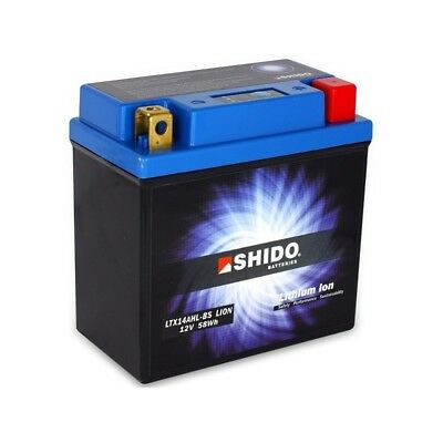 <em>YAMAHA</em><em>XS 500</em> 7579 SHIDO LITHIUM ION BATTERY LTX14AHL BS Q LI