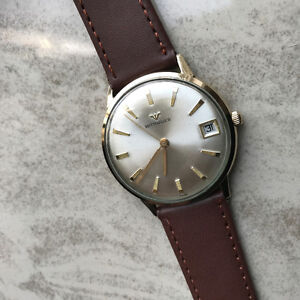 BEAUTIFUL VINTAGE SWISS WITTANUER MEN'S WRIST WATCH