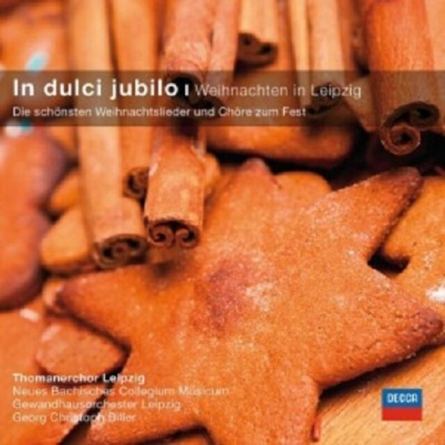 THOMANERCHOR LEIPZIG/BILLER/+ - IN DULCI JUBILO-WEIHNACHTEN IN LEIPZIG  CD  NEU